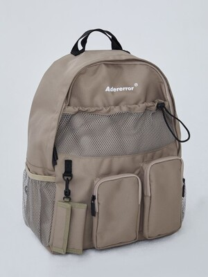 Cartridge backpack Brown