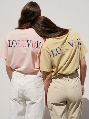 Love embroidery T-shirt SW0ME019_3color