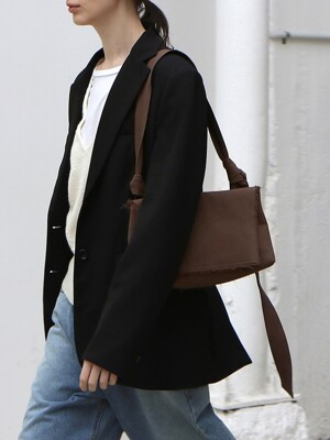 Knot Bag (Wide) Brown
