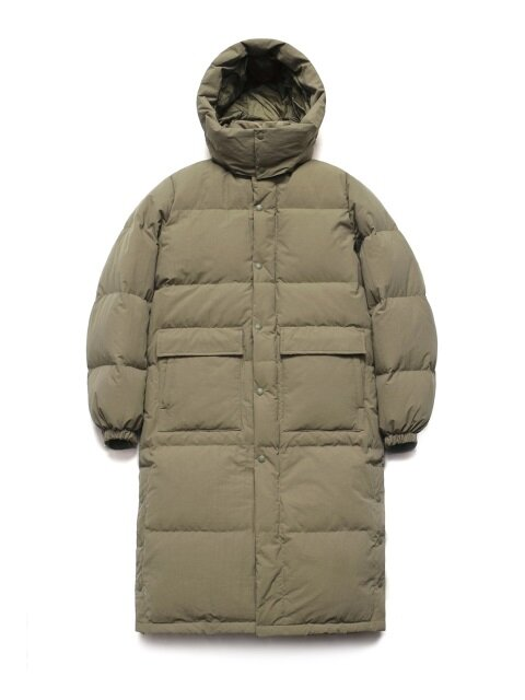 Duck Down Bench Parka_Martini Olive