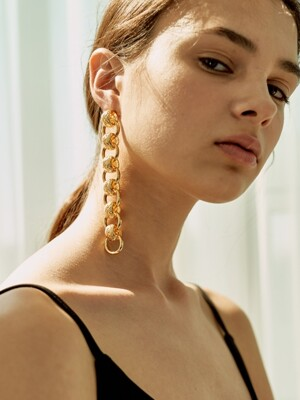gold rush 11 earring