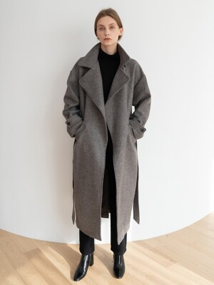 [ESSENTIAL] 카르멘 Carmen Coat Warm-Grey