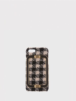 IPHONE 7/8 CASE LINEY GINGHAM CHECK