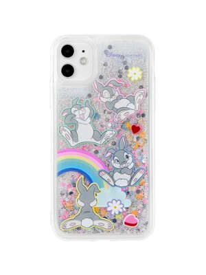 Rainbow Thumper Glitter case
