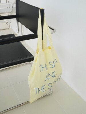 The sea and the sunset bag ( lemon )