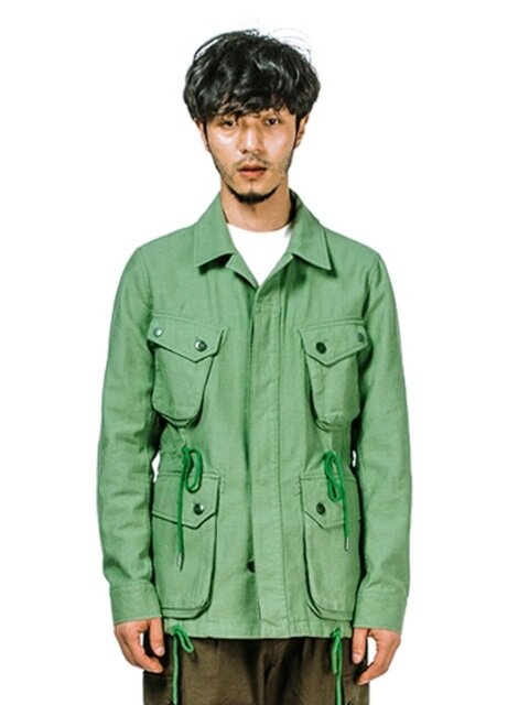 COTTON P.IELD JACKET (GREEN)