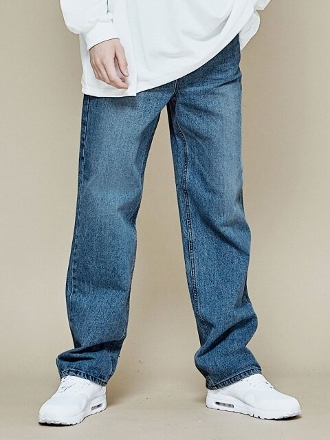 SIGNATURE LONG WIDE DENIM
