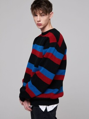 TRIPLE STRIPE KNIT