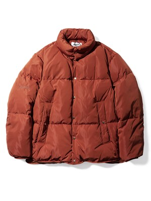 Colorway Puffer Down Short Padding_BRICK RED