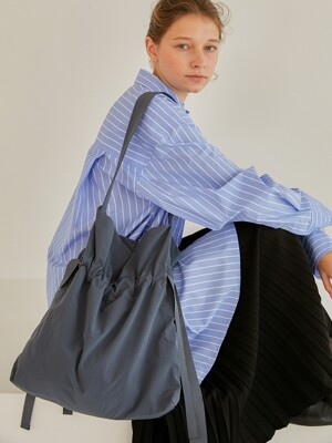 Drawstring Bag_Dusty Blue