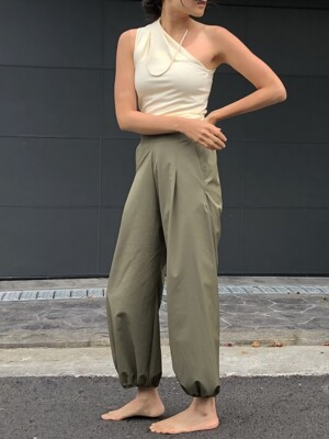 New Half Banding Pants-3colors