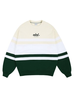COLOR BLOCK JUMPER_green