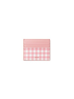 Gingham Card Wallet Small (2 COLOR)