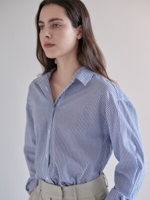 STRIPE SHIRTS - BLUE