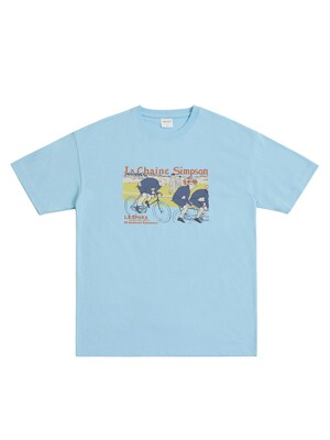 VELO T-SHIRT (LIGHT BLUE)