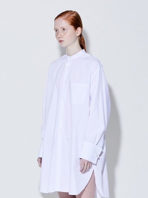19SS ORIENTAL LONG SHIRTS (WHITE)
