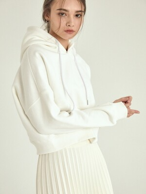 daily crop hood[ivory]