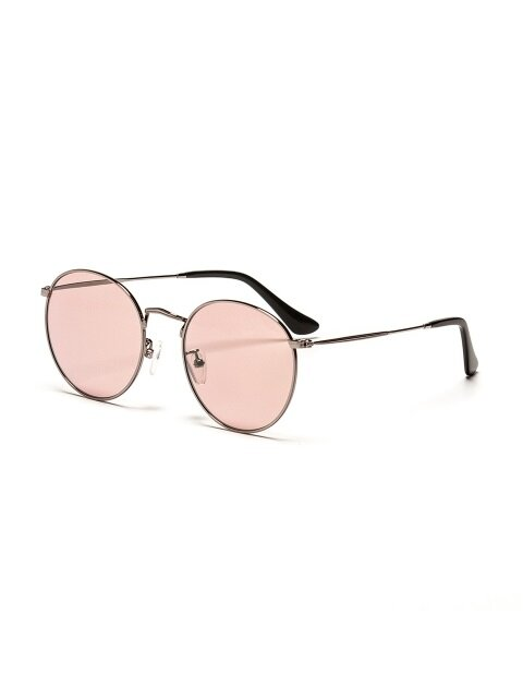 SATURN TINT SUNGLASSES (SILVERPINK)