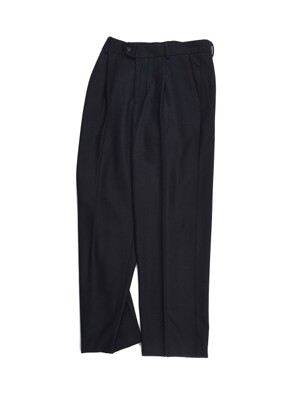 18FW STANDARD WOOL PANTS BLACK