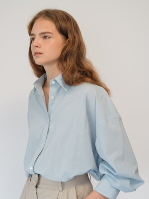 oversized shirts (skyblue)