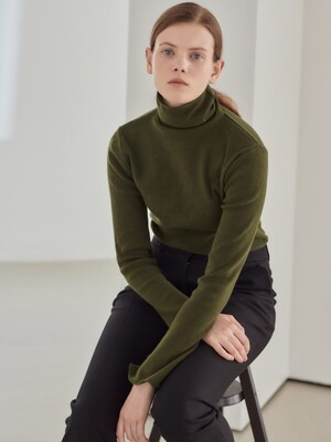19WN basic turtleneck [GN]