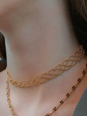 LACE CHOCKER (2 COLORS)