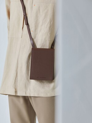 3-Way Leather Mini Bag_Brown