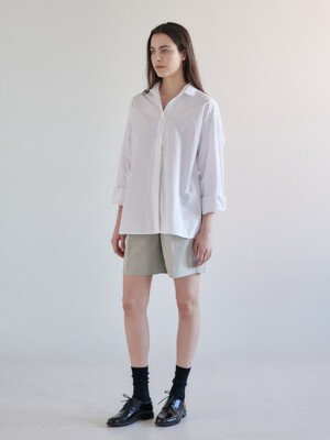 OVERFIT SHIRTS - IVORY