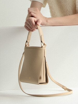 MINI LINK BAG_SOLID NUDE