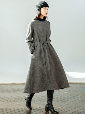 Double Gauze Gray Dress