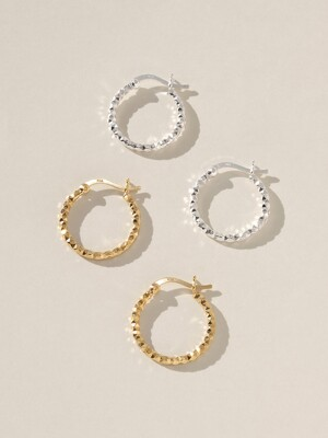 Shine Earring (silver925)(2color)