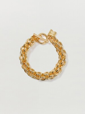 SOLA Cable Chain Bracelet - Gold
