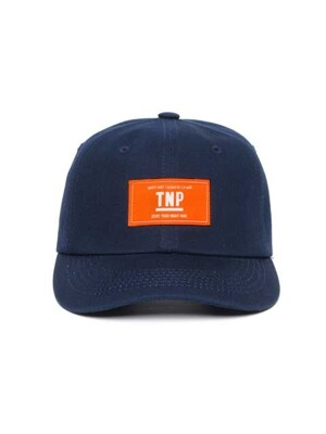 OG BOX LOGO BALL CAP - NAVY