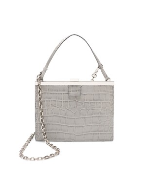 tashiana No.12 frame clutch_light grey