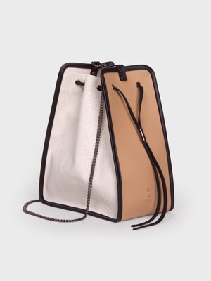 캔버스백 11° Canvas bag IVORY - BEIGE 버킷백