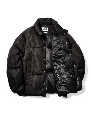Colorway Puffer Down Short Padding_BK