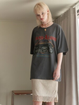 Motorcycle Print Big Tee in D/Grey_VW0ME1570