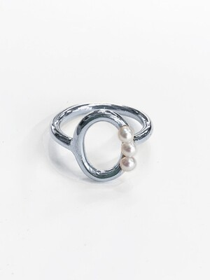 Petit Pearls Ring (silver)