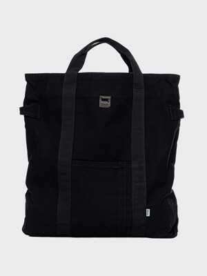 LB Brushed Tote Bag(라벨토트백) l Black