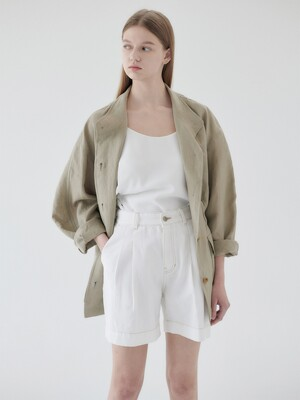 21N linen field jacket [K/BE]