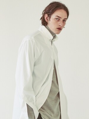 OPT18FWSH01WH Pin-detail Shirt 2 color