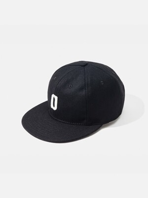 [OUTMODE] OUTMODE X EBBETS FIELD FLANNEL CAP - BLACK