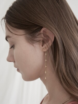 Cross `drop` Earrings