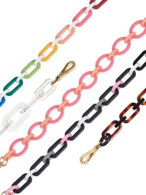 CANDY CHAIN bag-strap 43cm (5 color)