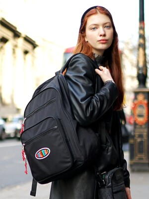 Funky Backpack 백팩- Black