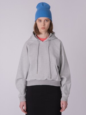 Women Hooded Sweatshirt GAS_H_01_M.GRAY