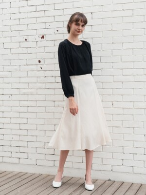 Dree Flare Skirt (2color)
