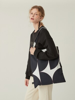 캔버스에코백_ MOONY MOONIE BLACK ECO BAG