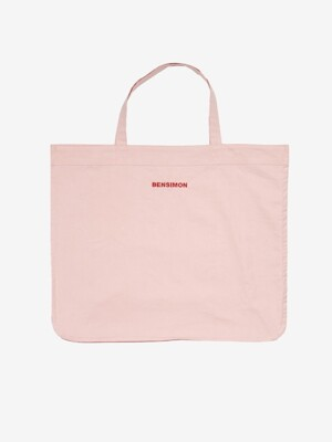 BENSIMON BIG SHOULDER BAG - PINK