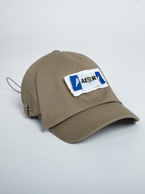 Rivet label cap Brown